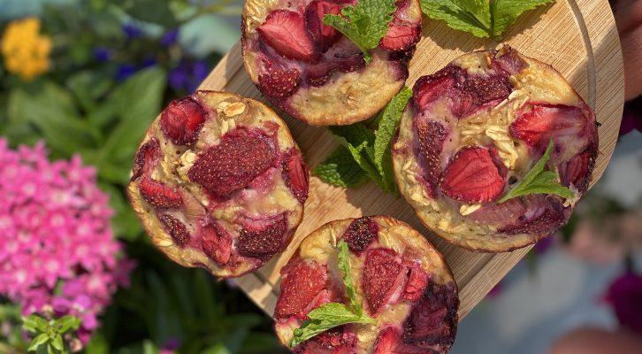 Recept: hälsosam muffinsfika i sommar