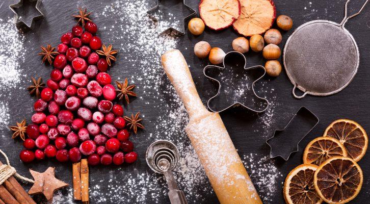 Recept: enkelt och veganskt fitness-julgodis