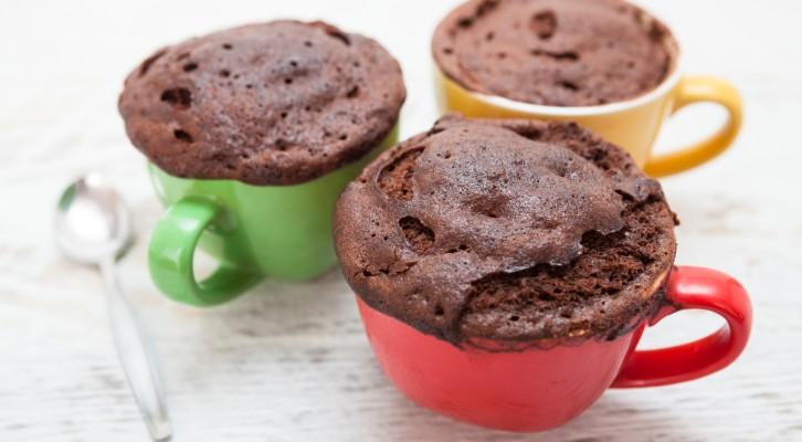 Recept: proteinrik brownie på 1 minut