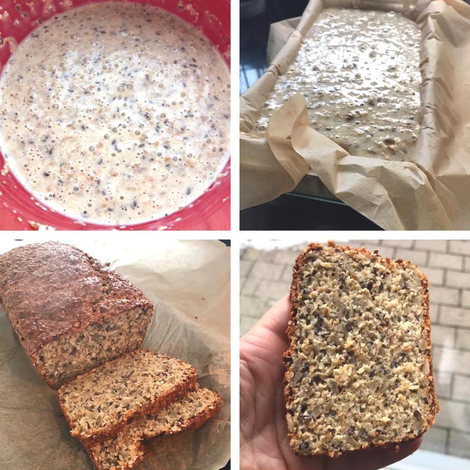 bröd kvarg bakpulver