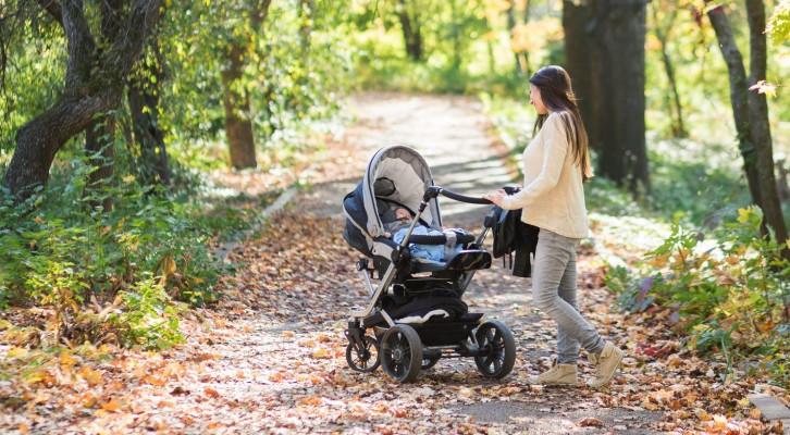 Vad du kan göra åt din hållning som nybliven mamma