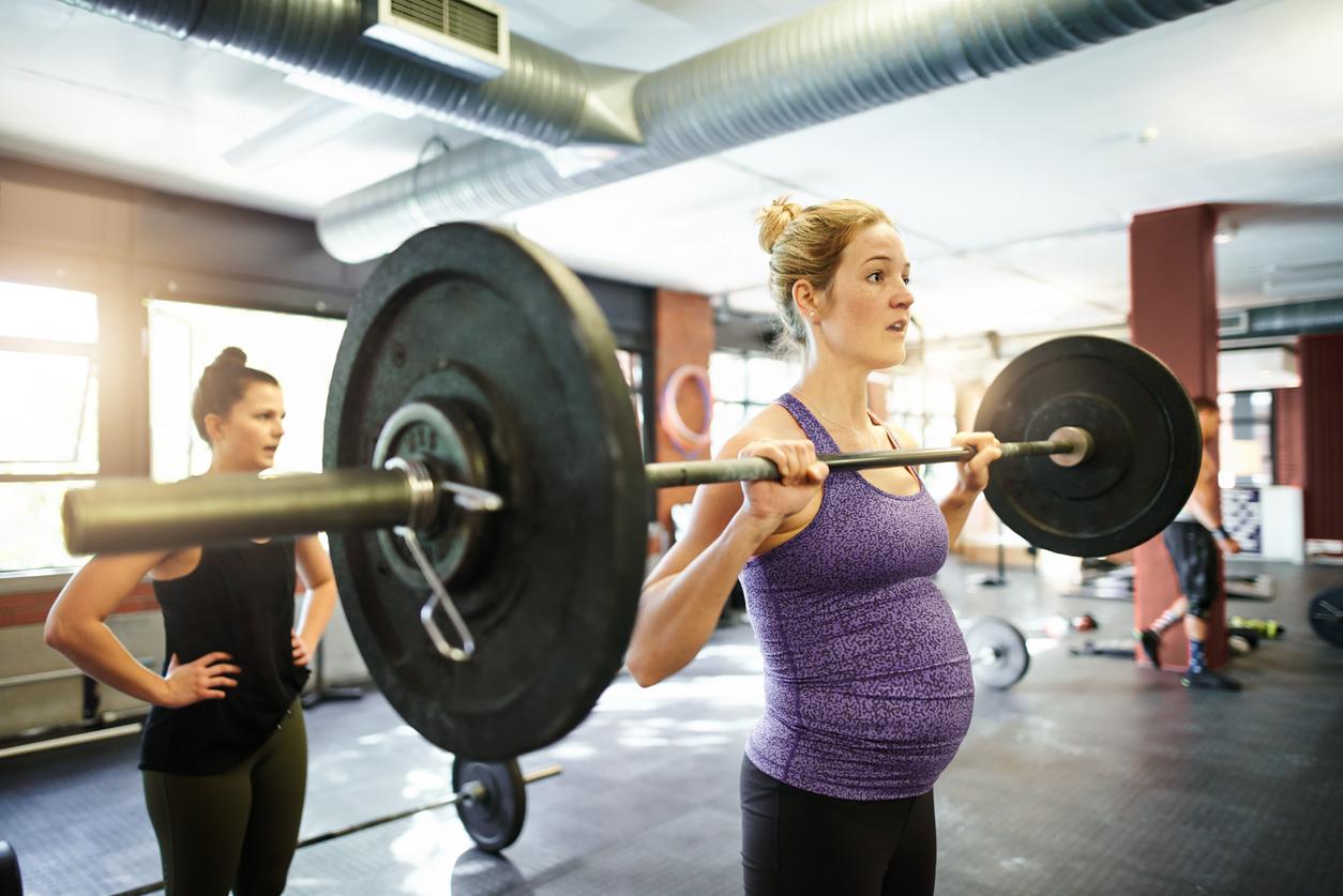 styrketräning graviditet