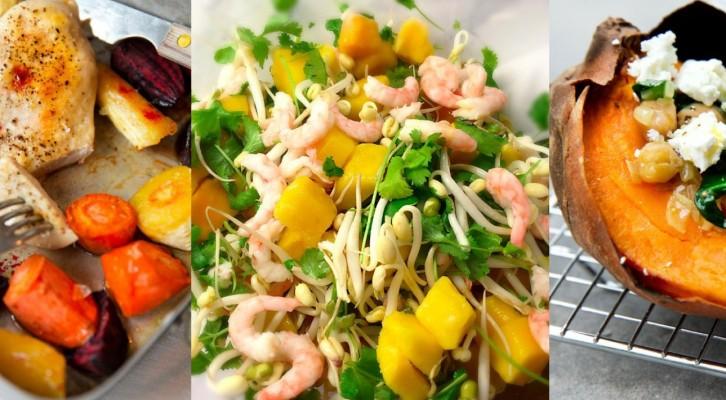Tre riktigt goda middagsrecept för ikväll! (Mättande, under 500 kcal)