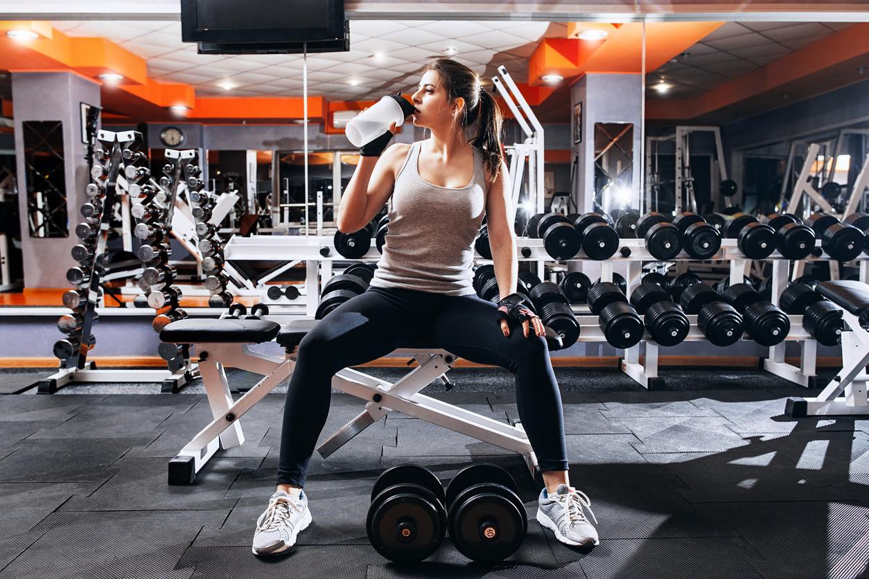 vila på gymmet