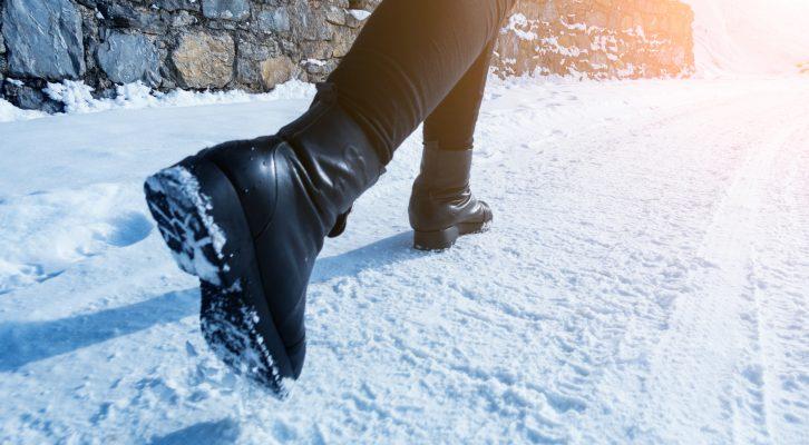 Promenader och fettnedgång på vintern: så gör du