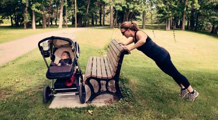 Fettförbränning för nyblivna mammor på ett smart sätt