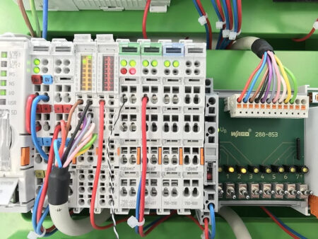 integrated data center automation blog header image controls board