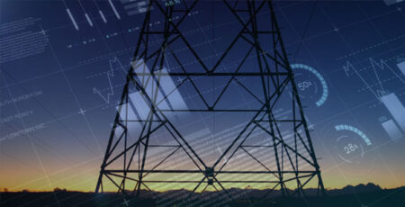 Energy broker blog photo power lines at dawn