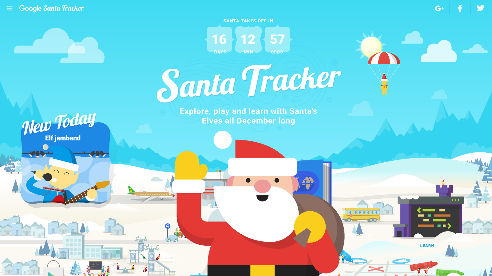 Image result for google santa tracker