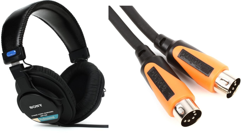 mdr 7506 closed back professional headphones rmidi