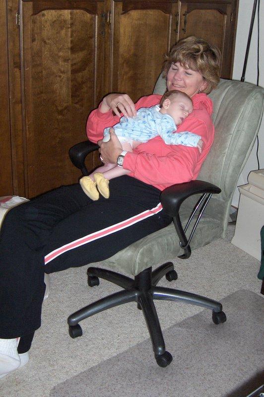 Aunt Catherine with Lorenz