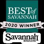 Best of Savannah 2020 award winner