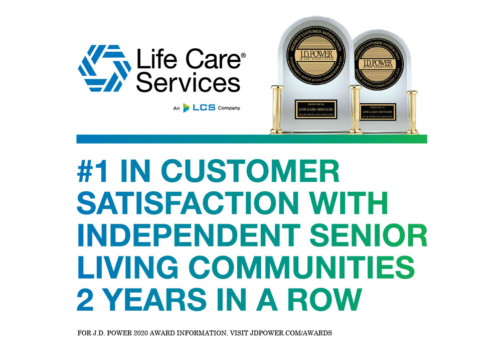 Life Care Services Ranked Highest in Customer Satisfaction among Independent Senior Living Communities | The Marshes of Skidaway Island