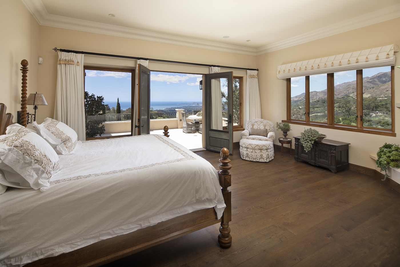 Master Bedroom with Private Patio & Views