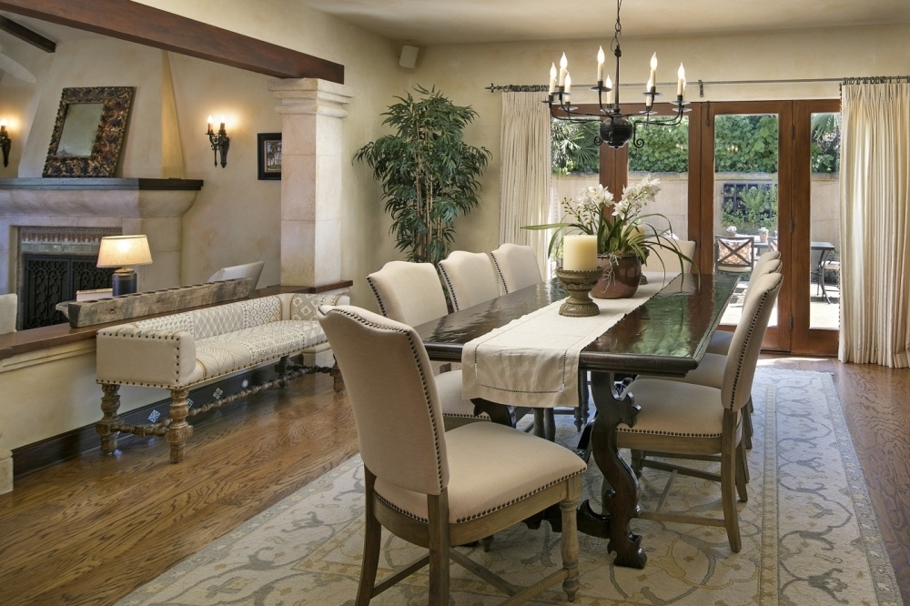 Formal Dining Room with Outdoor Dining Patio