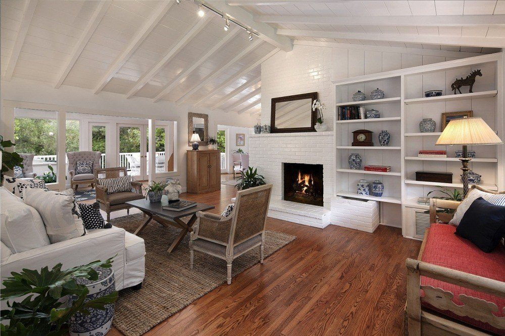 California Cottage-Style Home in Montecito