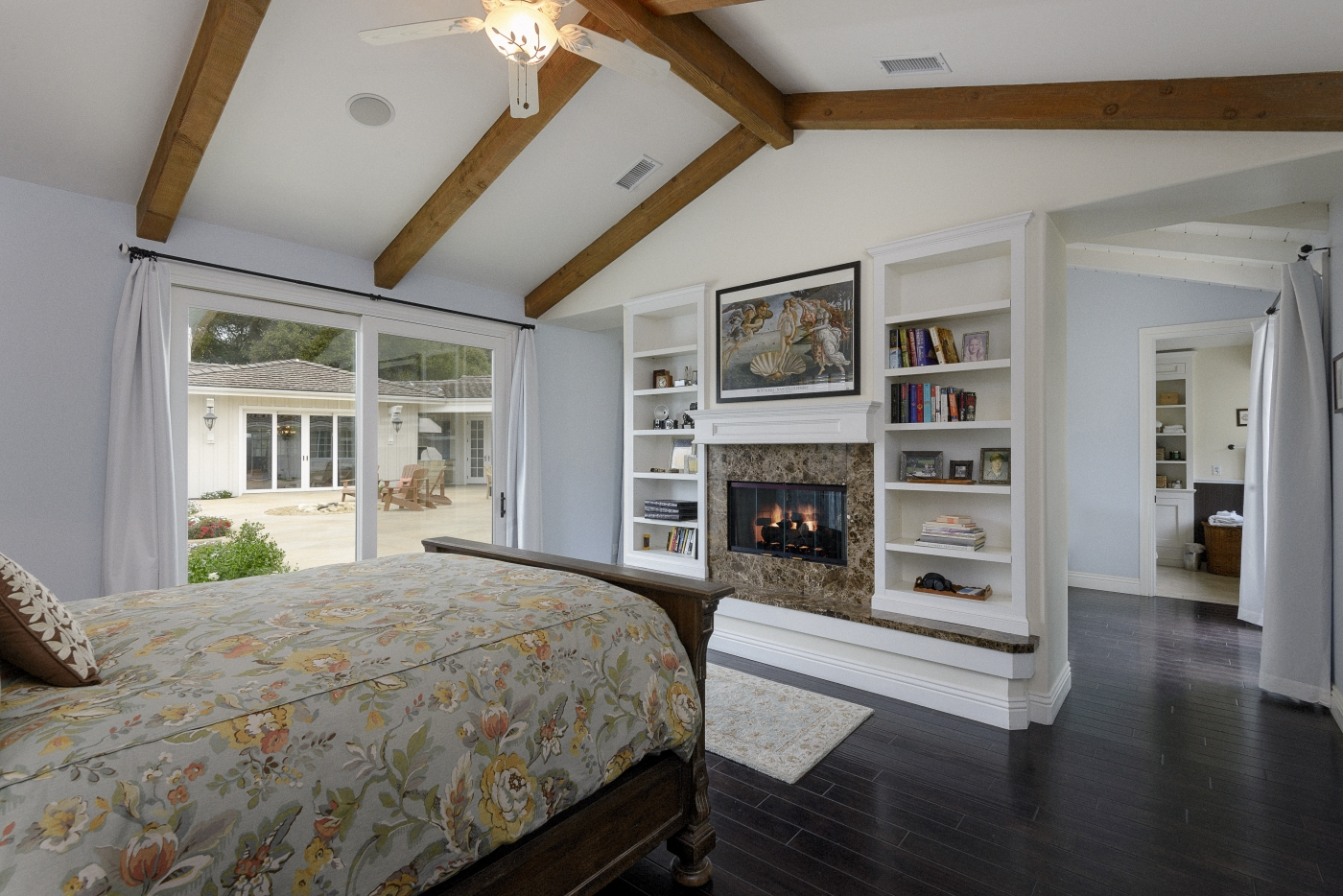 Master Bedroom Suite On Private End Of Home