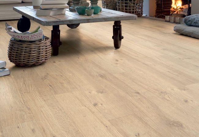 Quick step laminaat vloer