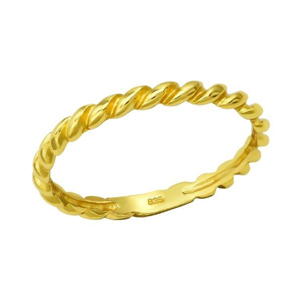 Stříbrný prsten - bez osazení