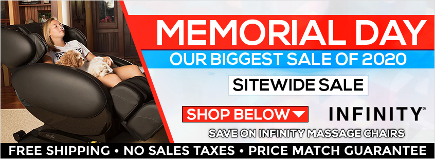Infinity Massage Chairs Memorial Day Sale