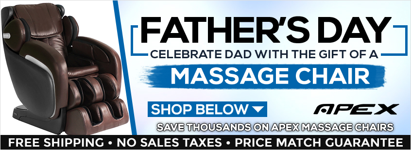 Apex Massage Chairs Father's Day Sale
