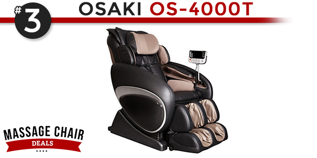 Osaki OS 4000T Massage Chair Best Selling Chair