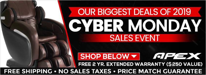 Apex Massage Chairs Cyber Monday Sale