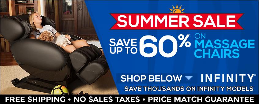 Infinity Massage Chairs Summer Sale