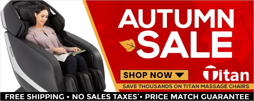 Titan Massage Chairs Autumn Sale