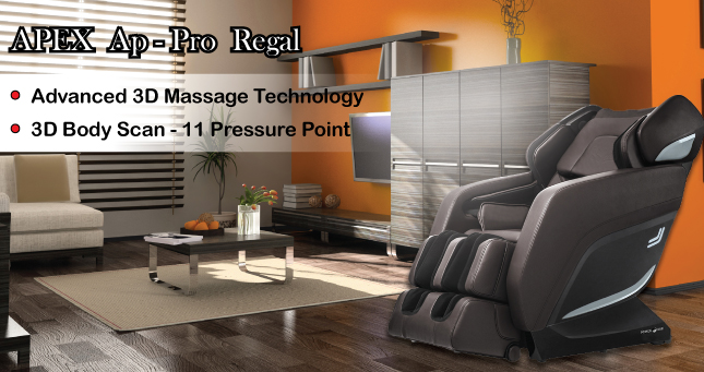 APEX AP-Pro Regal Massage Chair top