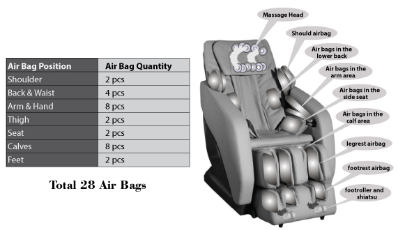 APEX Regal 3D Airbags