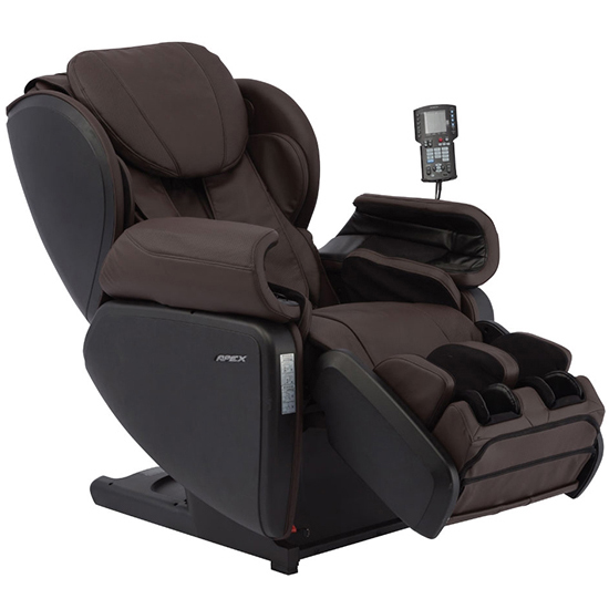 Apex AP-Pro Regent Massage Chair Espresso Recline