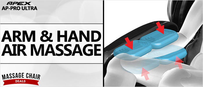 Apex AP-Pro Ultra Massage Chair Arm Massage