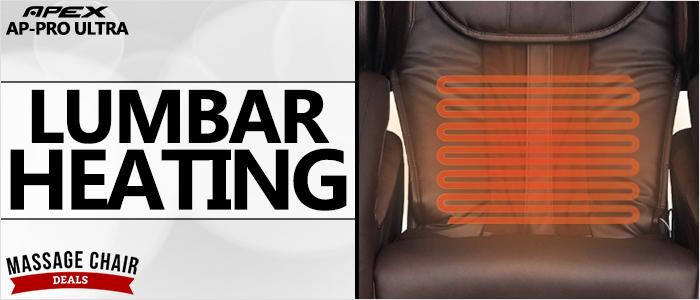 Apex AP-Pro Ultra Massage Chair Lumbar Heating