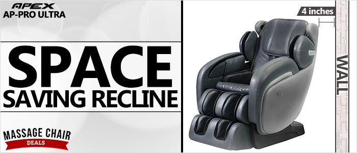 Apex AP-Pro Ultra Massage Chair Space Saving