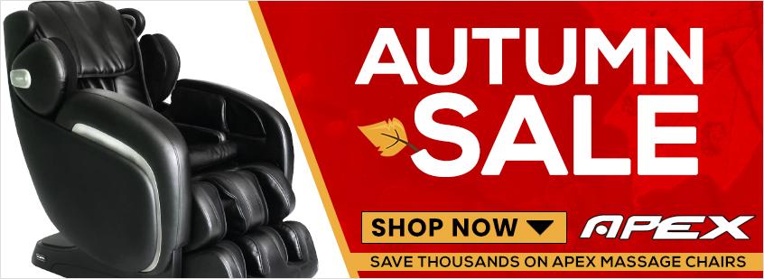 Apex Massage Chairs Autumn Sale
