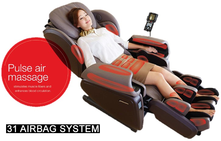 Apex Pro Regent 4D Massage Chair Airbags