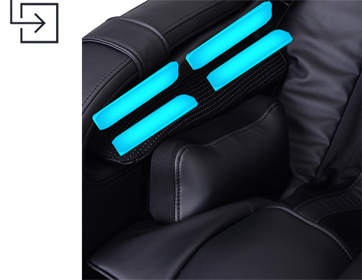 Infinity Escape Massage Chair Arm Airbags