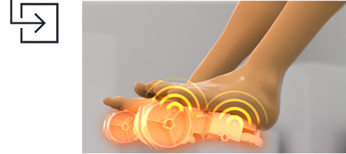 Infinity Escape Massager Foot Roller Massager