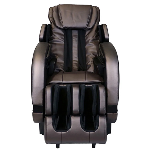 Infinity Escape Massage Chair Brown Front View