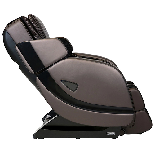 Infinity Escape Massage Chair Brown Side View