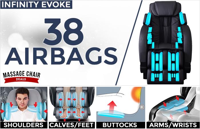 Infinity Evoke Massage Chair 38 Airbags