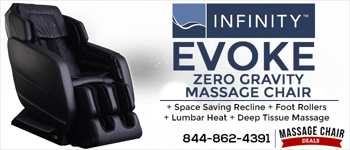 Infinity Evoke Massage Chair Banner