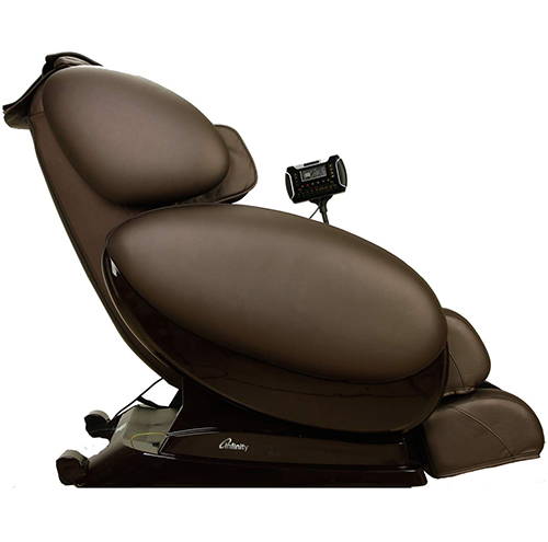 Infinity IT-8500 Massage Chair Brown Side View