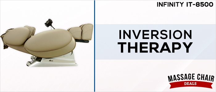 Infinity IT-8500 Massage Chair Inversion Recline Position