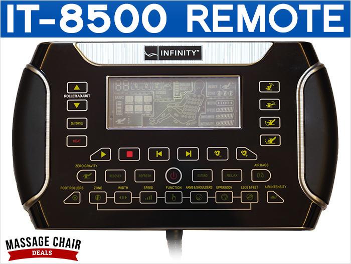 Infinity IT-8500 Massage Chair Remote Control