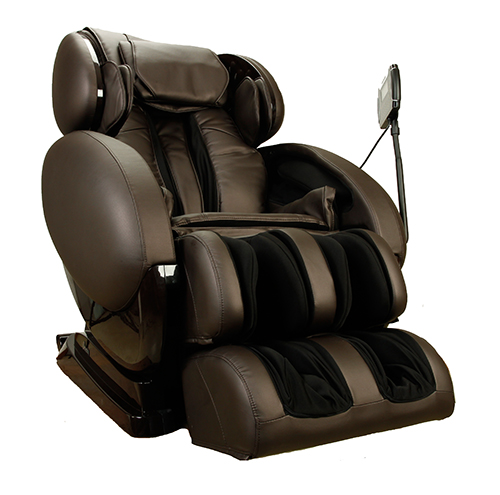 Infinity IT-8500 Zero Gravity Massage Chair Brown Front Image