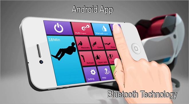 Infinity Iyashi Bluetooth Apple and Android App