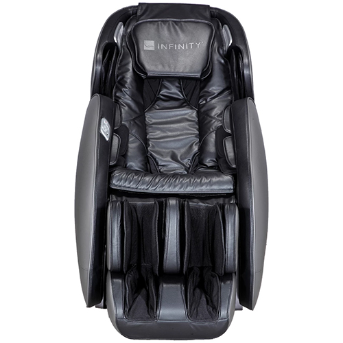 Infinity Meridian Massage Chair Black Front View