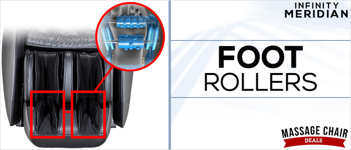 Infinity Meridian Massage Chair Foot Rollers